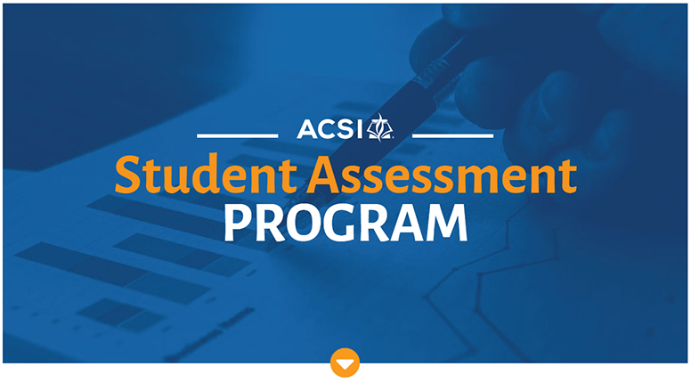 ACSI Student Assessment Program