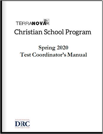 Test Coordinator's Manual