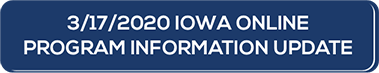 Iowa Online Program Information Letter