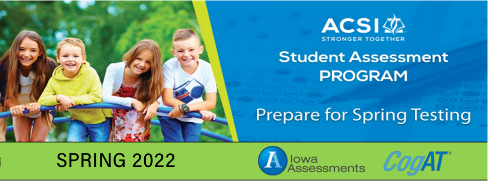 Iowa Assessments Spring 2022 Order for Scoring Services