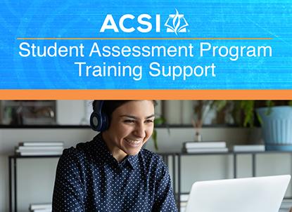 Student Assessment Program Training Support and Product Webinars
