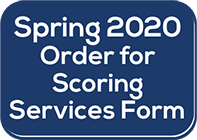 Iowa Assessments Spring 2020 Order for Scoring Services