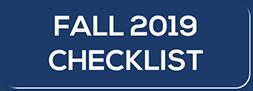Fall 2019 Checklist