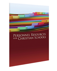 Personnel Resources for Christian Schools