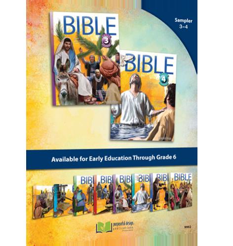Bible Sampler - Grades 3-4